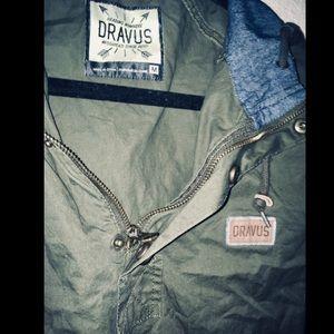 Authentic Dravus Hooded Windbreaker